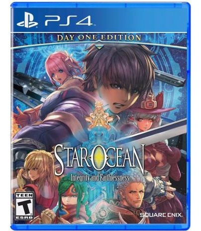 Star Ocean Day One Edition - Mídia Física - Ps4 - Novo