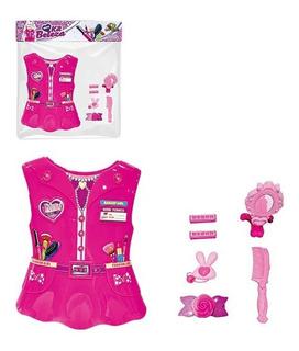 Colete Brinquedo Kit Beleza Com 5 Acessorios Menina