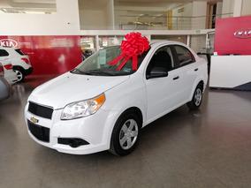 Chevrolet Aveo 1.6 Ls Aa Radio Airbag At 2017 Blanco