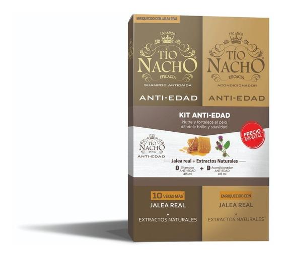 Pak Tío Nacho Jalea Real 01 Shampoo + 01 Acond. De C/u 415ml