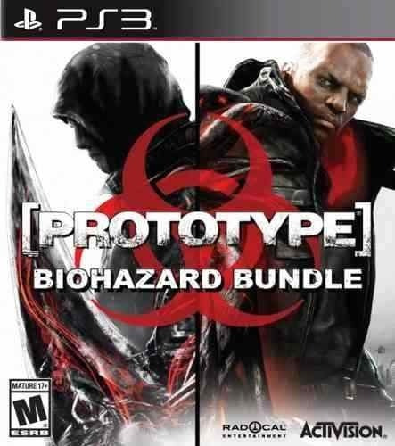 Prototype 1 E 2 Bundle + Dlcs - Jogos Ps3 Playstation 3