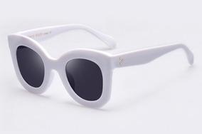 78763bc58 Óculos Sol Feminino Grande Preto Luxo Verão Celine Quadrado