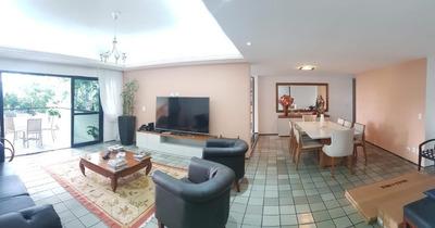 Apartamento Em Parnamirim, Recife/pe De 208m² 4 Quartos Para Locação R$ 4.500,00/mes - Ap166098