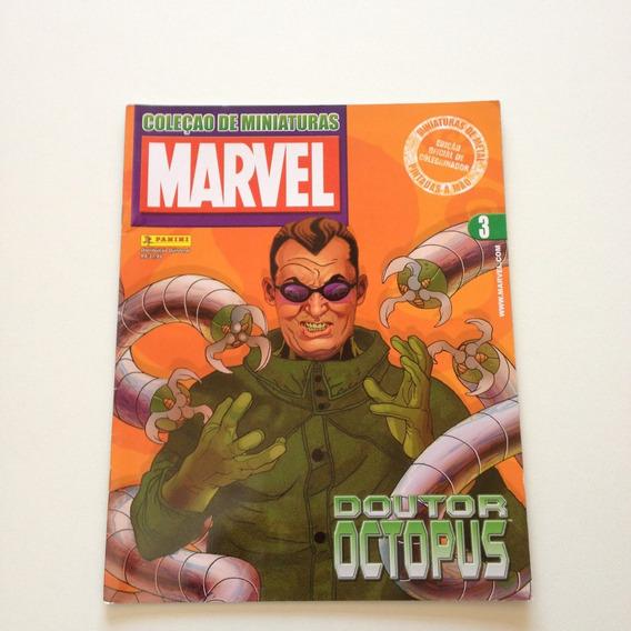 Revista Coleção De Miniaturas Marvel Doutor Octopus Nº03