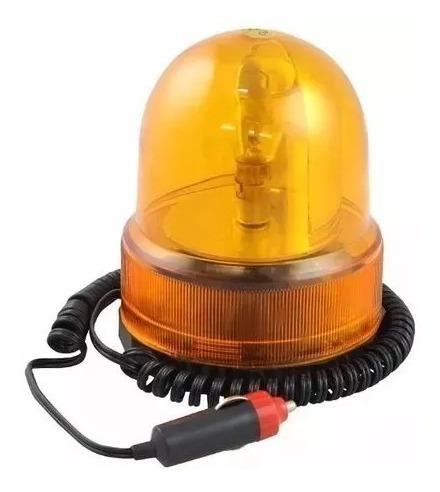 Giroflex -luminária De Emergência-base Magnética-sinalizador