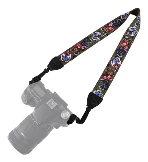 Alça De Pescoço Ombro Multi Color Dslr Nikon Canon Sony