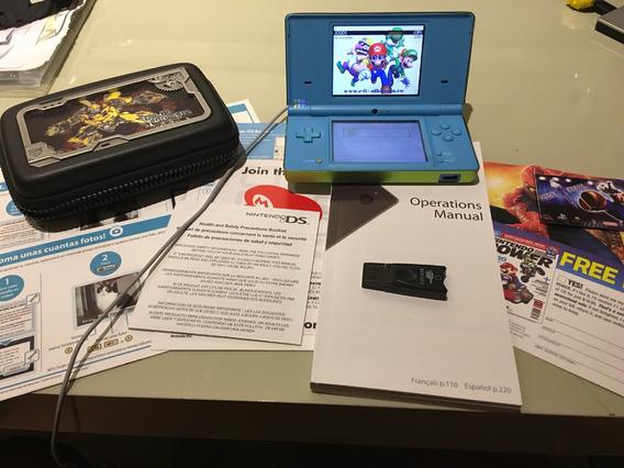 Nintendo Ds 50 Jogos Estojo Antishock Top Super Combo !!!