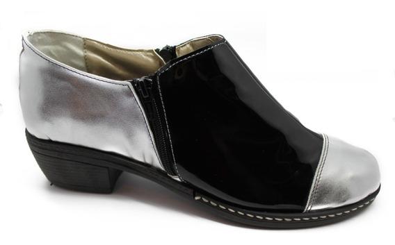 Zapatos De Mujer Charritos Texanas Taco Bajo Del 35 Al 44