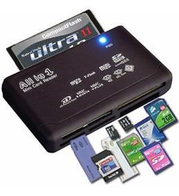Leitor Cartão Memória Usb Compact Flash Sdhc Sim Multilaser