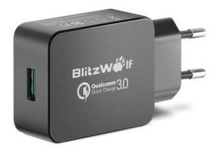 Carregador Turbo Blitzwolf Bw-s5 Qc 3.0 P/ Android E iPhone