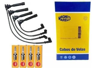 Velas + Cabos Palio Siena Doblo Uno Punto Fire Flex 1.0/1.4