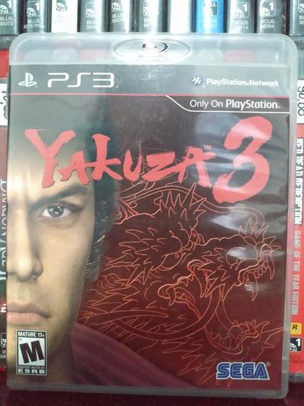 Jogo Yakuza 3 Ps3 Completo | Parcelamento Sem Juros