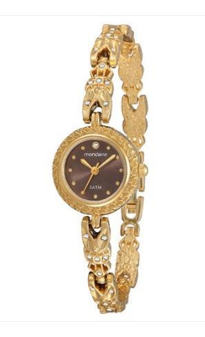 Relógio Feminino Mondaine Dourado Lindíssimo 83228lpmgdm1