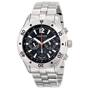Relógio Nautica Cronógrafo Wr100m Novo Na Caixa Nf Garantia