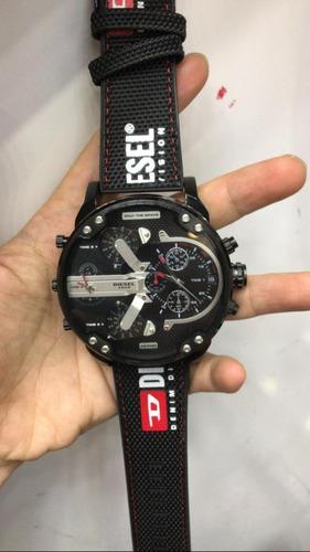 Relógio M23 Diesel Mr. Daddy M.dz 7433 Original