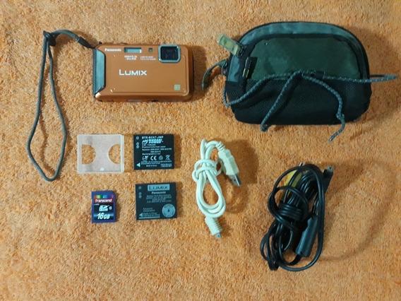 Cámara Digital Lumix Panasonic Dmc-ts20 16.1 Mp (leer)