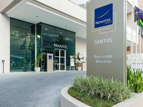 Hotel Novotel Santos - Total Infraestrutura No Local - Administrado Pela Accor - Preço De Oportunidade - Ho0001