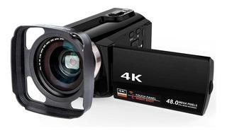 Videocamara 4k Vak 534 Wifi 48mp Vision Nocturna Zapata Hdmi