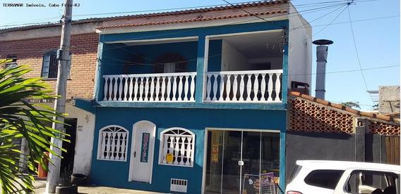 Casa Para Locação Em Cabo Frio, São Bento, 3 Dormitórios, 1 Suíte, 3 Banheiros, 1 Vaga - Afr 152_2-1054990