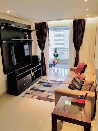 Apartamento Com 3 Dormitórios À Venda, 83 M² Por R$ 550.000,00 - Centro - Guarulhos/sp - Ap0627