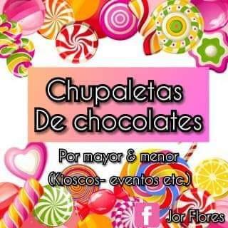 Ventas De Chupaletas De Chocolates