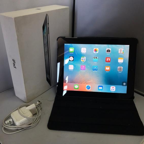 Tablet iPad 2 16gb Apple Cinza Com Caixa Leia O Anuncio