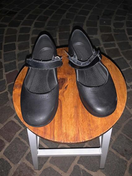 Zapato Colegial Negro Humms Ammbar Niña Guillermina