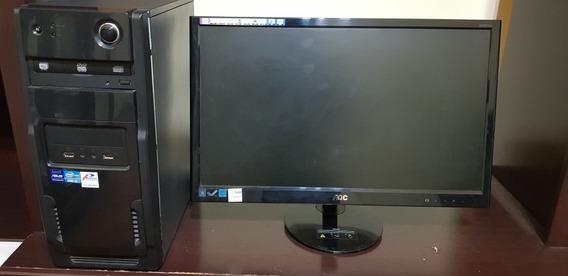Computador (asus) - 500gb, Core I3, 4gb + Monitor Aoc 23