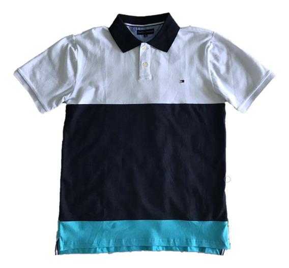 Camisa Polo Regular Fit Tommy Hilfiger Gg