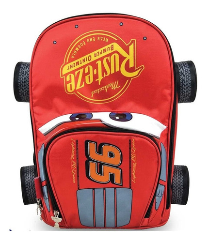 Morral Forma Cars Backpack Cars P.bags