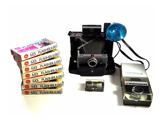Polaroid Land Camera 100 - Kit Completo- Última Oferta