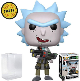Rick And Morty - Funko Pop - Beth - Netflix - Chase - Morty