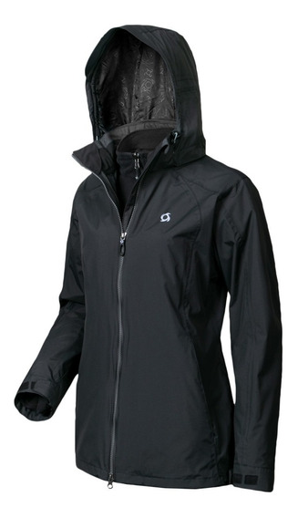 Campera Doite Outdoor 3 En 1 Tembrant Mujer