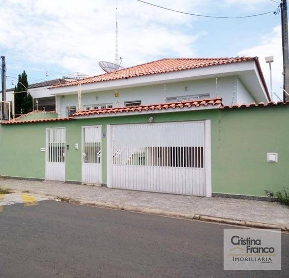 Casa Residencial Para Locação, Brasil, Itu - Ca1992. - Ca1992