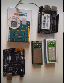 Kit Com Arduino 101, Linkit Smart Duo, Yun Shield.