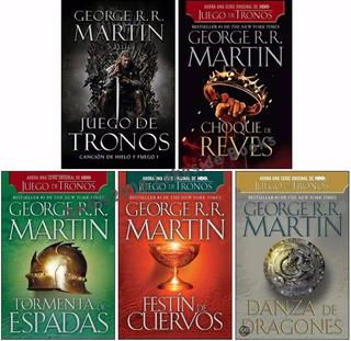 Libros Juego De Tronos - Colección Completa.