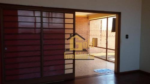 Casa Com 4 Dormitórios À Venda, 231 M² Por R$ 450.000,00 - Jardim Macedo - Ribeirão Preto/sp - Ca1015