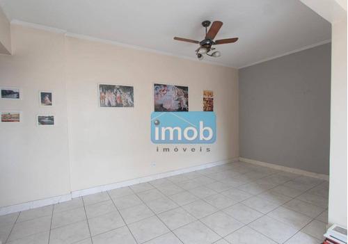 Apartamento Com 2 Dormitórios À Venda, 100 M² Por R$ 360.000,00 - Campo Grande - Santos/sp - Ap7708