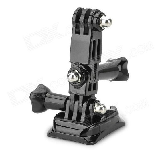 Montagem Lateral P/ Capacete Gopro Hero 2/3/3+/4 As100 As200