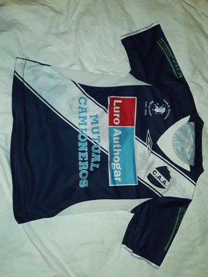 Camiseta Antigua Ca Alvarado Mdq Umbro Niño 10/12