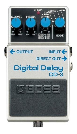 Pedal Boss Digital Delay Dd-3 | Garantia E Nfe