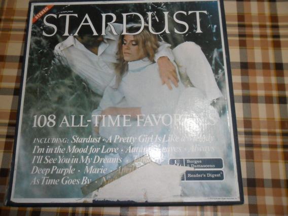 Caixa 9 Lps Stardust - 108 All Time Favorites