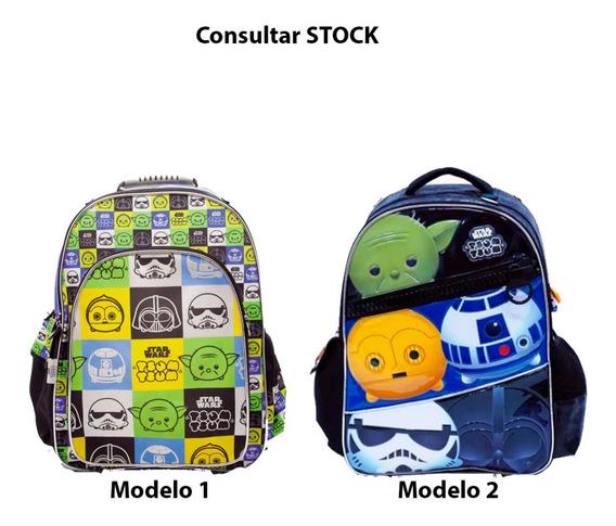Mochila Star Wars 18 Pulgadsa Cuotas Mmk 89206