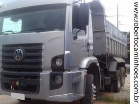 Vw 24250 Truck Ano 2011 Caçamba, Todo Original.