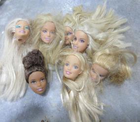 Lote De Cabeças De Barbie