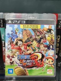 Jogo Ps3 One Piece Unlimited® Mídia Física Playstation 3