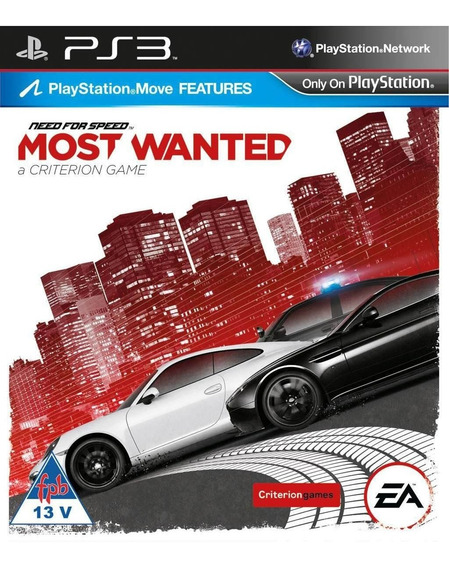 Need For Speed Most Wanted Ps3 Psn Envio Imediato Jogue Agor