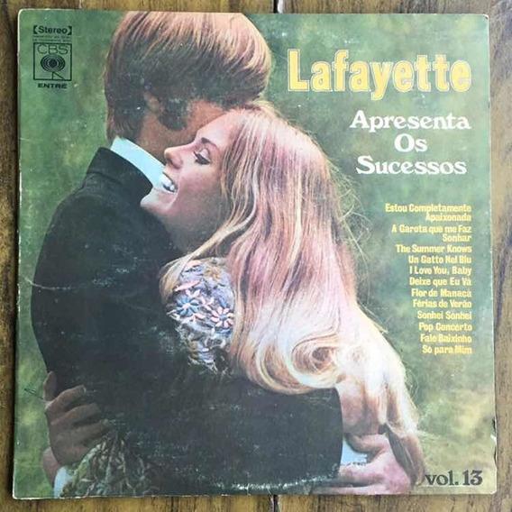 Lp Lafayette Apresenta Os Sucessos Vol 13 1972
