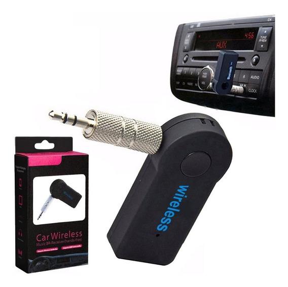 Receptor Bluetooth Audio Inalambrico Estereo Auto Auxiliar 3.0