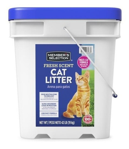 Arena Para Gatos Cat Litter 42 Lb Member's Selection